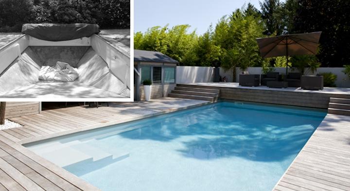 R novation de piscine lyon rh ne 69 c t jardin for Piscine montagny