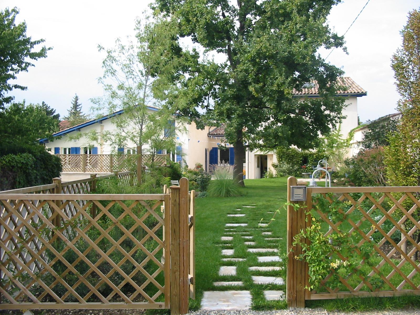 Am nagement de a z c t jardin for Amenagement jardin bois