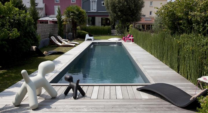 Piscine urbaine c t jardin for Piscine et jardin touquet